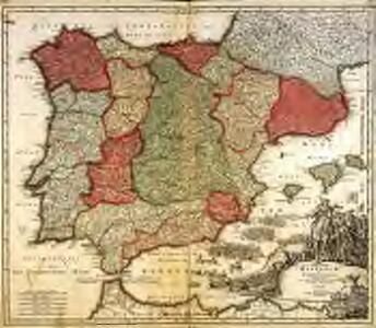 Regnorum Hispaniæ et Portugalliæ tabula generalis