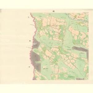 Ober Beczwa (Horny Bečwa) - m0763-1-008 - Kaiserpflichtexemplar der Landkarten des stabilen Katasters
