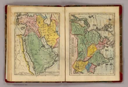 Turkey, Arabia, Persia, Hindoostan, China.