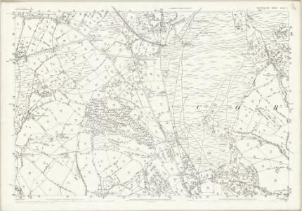 Shropshire LXXIX.7 (includes: Caynham; Coreley; Hope Bagot; Nash) - 25 Inch Map