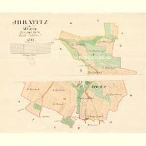 Jrratitz - m1115-1-001 - Kaiserpflichtexemplar der Landkarten des stabilen Katasters