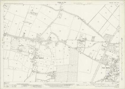 Middlesex XIX.12 (includes: East Bedfont; Stanwell; Yiewsley and West Drayton) - 25 Inch Map