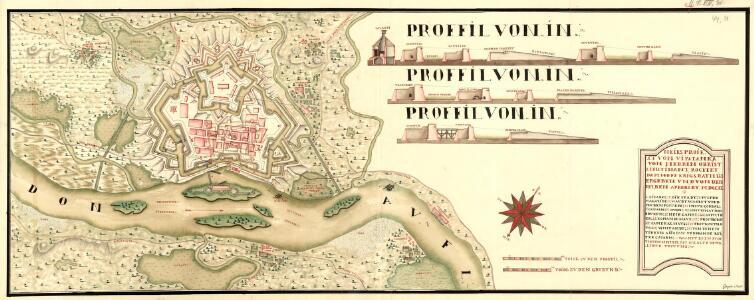 Neies Proiect von Vipalanka von Herren Obrist Lieutinant Rochet dem Hoff Krigs Rath übergeben vnd von den Selben aprobirt MDCCXI