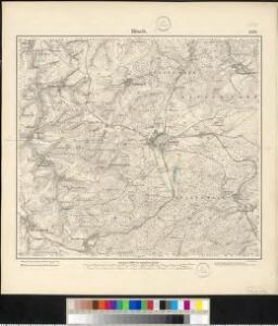 Meßtischblatt 3570 : Bitsch, 1883