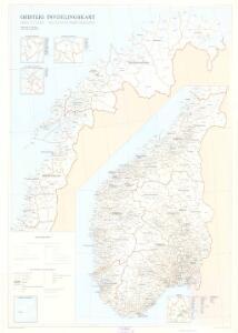 Spesielle kart nr 117-3: Geistlig inndelingskart over Norge