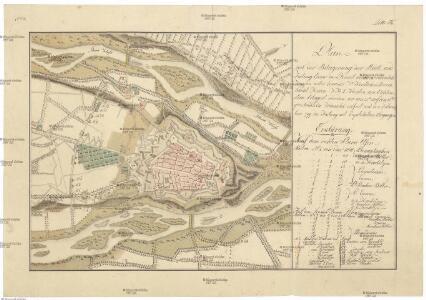 Plan von der Belagerung der Stadt und Festung Cuneo in Piemont welche durch die k.k. Truppen unter Comando sr. fürstlichen Durchlaucht Herrn F.M.L. Fürsten von Lichtenstein belagert worden, wo von 25.ten auf den 26.ten 9.ber Nachts die transcheé eröfnet und den 3.ten December [1]799 die Festung mit Capitulation übergangen