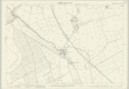 Somerset LXXII.16 (includes: Drayton; Kingsbury Episcopi; Muchelney) - 25 Inch Map