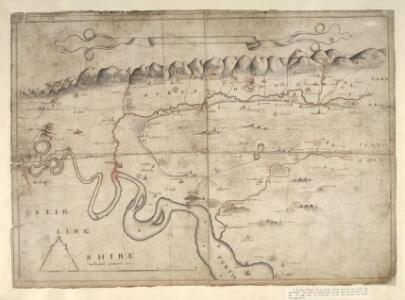 [A map of Strath Devon and the district between the Ochils and the Forth]