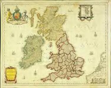 Magnæ Britanniæ et Hiberniæ nova descriptio
