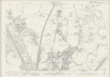 Cheshire X.11 (includes: Manchester; Stockport) - 25 Inch Map