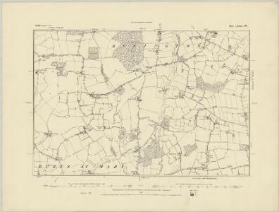 Suffolk LXXIX.SE - OS Six-Inch Map