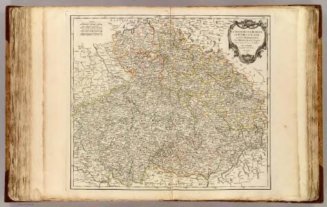 Boheme, Silesie, Moravie et Lusace.