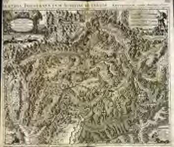 Nouvelle carte du pays de Grisons