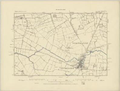 Somerset LXXIII.SW - OS Six-Inch Map