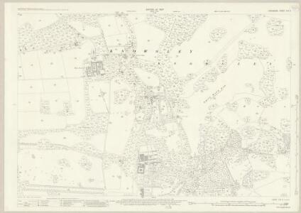 Lancashire CVII.2 (includes: Knowsley) - 25 Inch Map