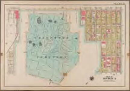 Plate 35: [Bounded by 9th Avenue, Twentyeighth Street (Greenwood Cemetery), Fifth Avenue, Prospect Avenue, Prospect Park West, Twentieth Street, Seventh Avenue, 20th Street, Gravesend Avenue, Fort Hamilton Avenue, 37th Street and 7th Avenue.]; Atlas of the borough of Brooklyn, city of New York: from actual surveys and official plans by George W. and Walter S. Bromley.