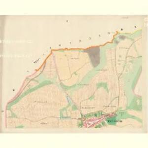Wölleschin - c8366-1-001 - Kaiserpflichtexemplar der Landkarten des stabilen Katasters
