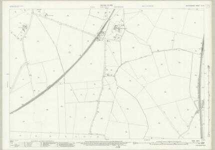 Bedfordshire XXI.6 (includes: Lidlington; Marston Moretaine; Millbrook) - 25 Inch Map