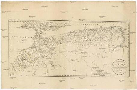 Generalkarte der Koenigreiche Marokko, Fez, Algier, und Tunis
