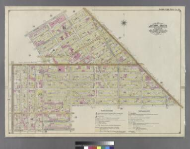 Part of Wards 19 & 21. Land Map Sections, No. 6 & 8, Volume 1, Brooklyn Borough, New York City.