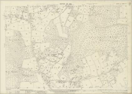 Sussex IV.7 (includes: Worth) - 25 Inch Map
