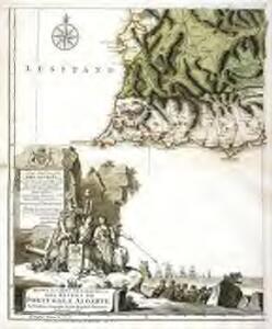 Mappa ou carta geographica dos reinos de Portugal e Algarve, 5