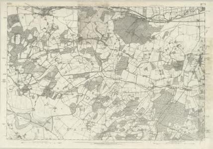 Berkshire XLII - OS Six-Inch Map