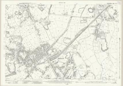Staffordshire LXXII.5 (includes: Hill And Cakemore; Oldbury; Rowley Regis) - 25 Inch Map