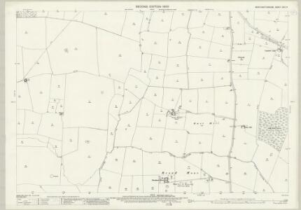 Northamptonshire XXIII.6 (includes: Clipston; Naseby; Sibbertoft; Sulby) - 25 Inch Map
