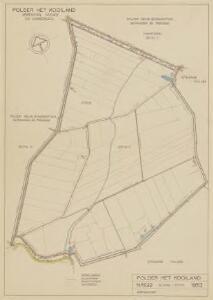 Polder het Kooiland, gemeente Strijen en 's-Gravendeel.