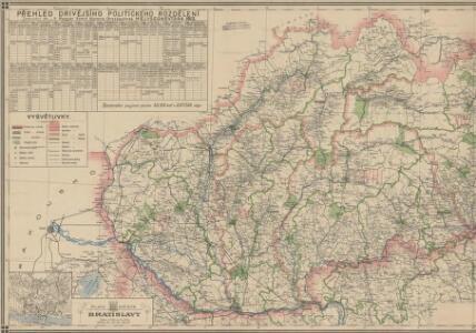 Podrobný přehled politického rozdělení Slovenska