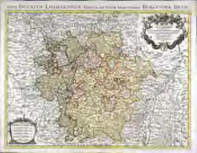 La Lorraine qui comprend les duchés de Lorraine et de Bar et les balliages des eveschés et des villes de Metz, Toul, et Verdun