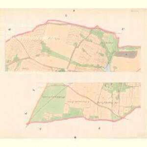 Zborow - c9182-1-001 - Kaiserpflichtexemplar der Landkarten des stabilen Katasters