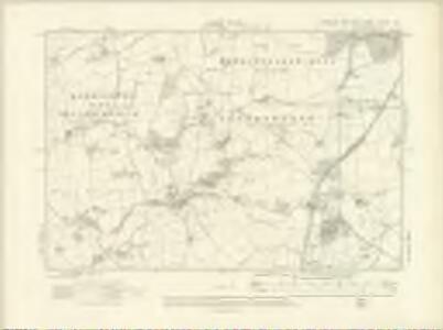 Yorkshire CXXXVII.NW - OS Six-Inch Map