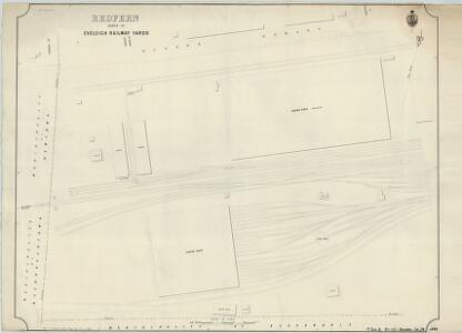 Redfern, Sheet 29, Eveleigh Railway Yards, 1889