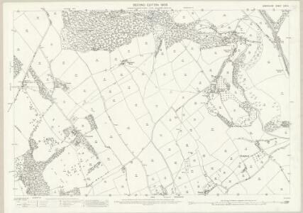 Shropshire LXVI.4 (includes: Chelmarsh; Chetton; Eardington; Glazeley) - 25 Inch Map