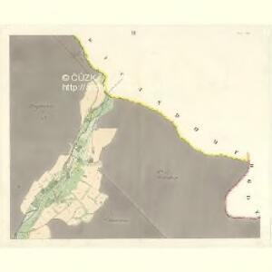 Oskau (Oskawa) - m2174-1-002 - Kaiserpflichtexemplar der Landkarten des stabilen Katasters