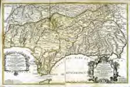 Parte meridional de las costas d'Españas