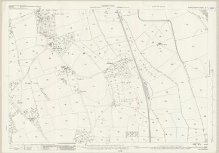 Herefordshire XII.7 (includes: Eye Moreton And Ashton; Eyton; Kimbolton With Hammish; Luston) - 25 Inch Map