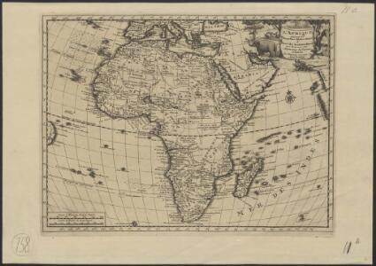 L'Afrique, suivant les nouvelles observations de Mess.rs de l'Académie Royale des Sciences etc., augmentées de nouveau