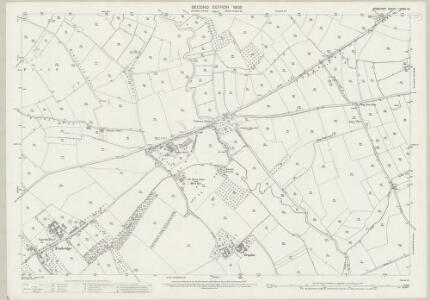 Somerset LXXXII.13 (includes: Martock; Norton Sub Hamdon; South Petherton; Stoke Sub Hamdon) - 25 Inch Map