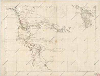 Specialkarte der West-Kϋste von Africa von Cabo Blanco bis Cabo Verga