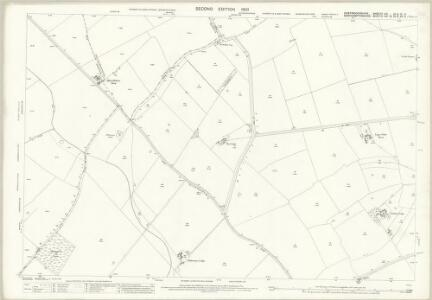 Huntingdonshire VIII.12 & IX.9 (includes: Denton and Caldecote; Glatton; Great Gidding; Hemington; Luddington; Lutton; Polebrook) - 25 Inch Map