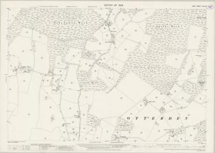 Kent XLIV.10 (includes: Doddington; Otterden; Wichling) - 25 Inch Map