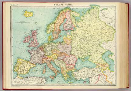 Europe - political.