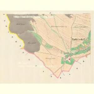Markersdorf (Zradezna) - m0890-1-004 - Kaiserpflichtexemplar der Landkarten des stabilen Katasters