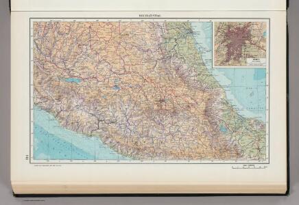 214.  Mexico, Central.  The World Atlas.