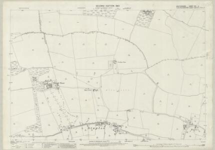 Bedfordshire VIII.4 (includes: Eaton Socon; Great Staughton; Hail Weston) - 25 Inch Map