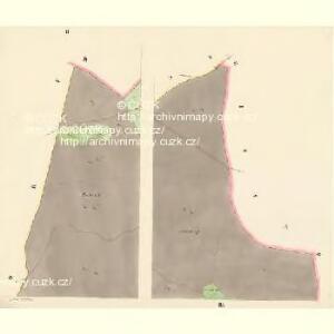 Pössigkau (Besikow) - c0146-1-002 - Kaiserpflichtexemplar der Landkarten des stabilen Katasters