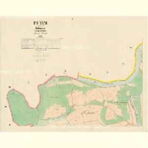 Putim - c6291-1-001 - Kaiserpflichtexemplar der Landkarten des stabilen Katasters